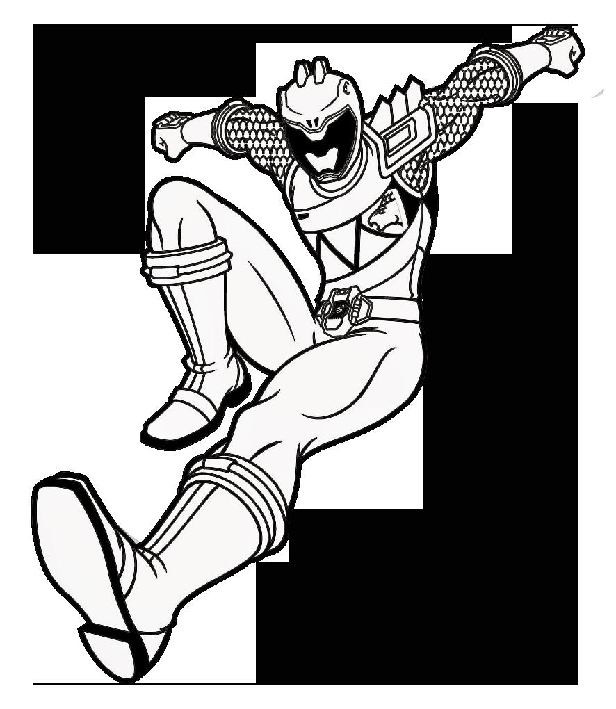 Juegos de Colorear al Power Ranger Azul